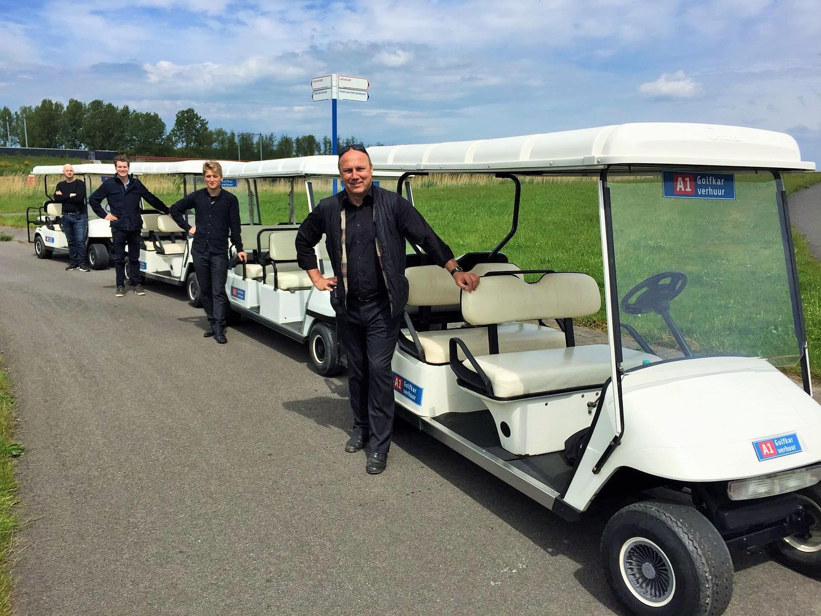 golfkar huren met breng en haal service