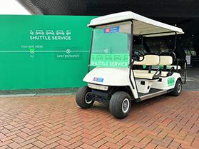 Golfkar verhuur voor de RAI Amsterdam