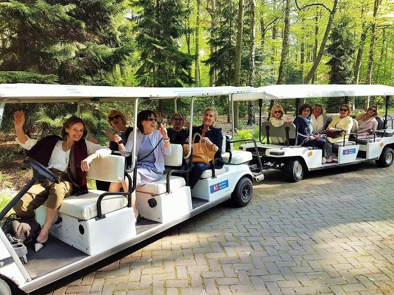 14 persoons golfkar huren